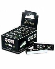 1x Box OCB Perforated Filter tips 25 Booklets x 50=1250 total
