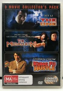 3 Fighting Movie Pack See Pics - DVD - Region 4 - AusPost with Tracking