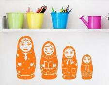 Russian Nesting Matryoshka Dolls - highest quality wall decal stickers