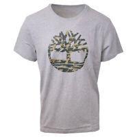 Timberland Men's Grey Camo Tree S/S Tee (Retail $35) S24
