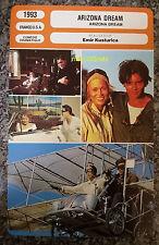 US Comedy Drama Arizona Dream Johnny Depp Faye Dunaway French Film Trade Card