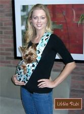 NEW LittleRubi pet dog puppy carrier sling tote free hands 45 colors small-XL