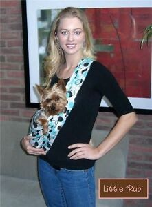 NEW LittleRubi pet dog puppy carrier sling tote free hands 50 colors xsmall-XXL