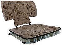 Skydex Convoy Seat Cushion with Lumbar- Desert Camo Color