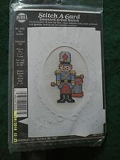 "Titan ""Toy Soldier"" Cross Stitch Greeting Card Kit Size 4"" x 6"""