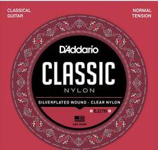 3 Sets D'Addario EJ27N-3D Classical Guitar Nylon String Normal Tension EJ27N