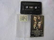 U2 The Unforgettable Fire CASSETTA Canada 1984 First Pressing RARE!