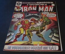 1973 THE INVINCIBLE IRON MAN # 15 IN FRENCH EDITIONS HERITAGE CANADA