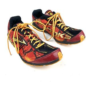 Brooks Mach Speed Dragon X-Country Track Spikes Running Shoes Mens Size 10