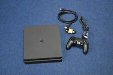 Sony PlayStation 4 Slim 1TB  Matte Black Console on 5.05 Firmware