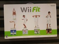 Nintendo Wii Fit Balance Board With Box Manual And Game
