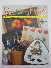 You Can Paint 15 Projects Art Decor Snowman Candy Canes Fruit Seasonal Designs