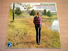 EX/EX !! George Hamilton IV/Bluegrass Gospel/1974 Lamb & Lion LP