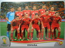 Panini 109 Team Espana Spanien FIFA WM 2014 Brasilien