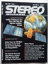 STEREO 3/89 KENWOOD KT 990 D,PHILIPS FT 880,PIONEER F 737,TECHNICS ST G 70,