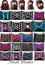 Trend African Hairclip Haarklammer Haarspange Haarkamm Perlen Glas 47 Modelle
