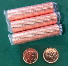 2012 Canada Pennies  3 Full Rolls,  BU MS  Mint, Non-Magnetic