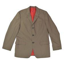 HUGO BOSS Red Herren Sakko 50 M Blazer Jacke AMAXI/HENSO braun Jacket NEU