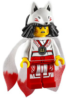 Minifig compatible Ninjago Akita Secrets the Forbidden Spinjitzu njo521 70678