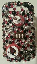 Arizona Cardinals NFL bling case 4 iPhone 4s,5,5s,5c,6,Samsung Galaxy S3,S4&S5