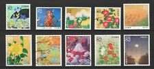 JAPAN 2017 GREETINGS JAPANESE PAINTINGS COMP. SET OF 10 STAMPS IN FINE USED