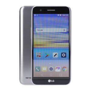 LG K10 LTE 2017 16GB Titan *Ersatzteilspender / Defekt*