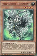 1x YuGiOh Heroic Challenger - Thousand Blades - WSUP-EN017 - Super Rare - 1st NM
