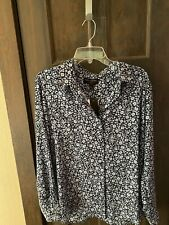 Banana Republic Floral  Blouse Brand New With Tags