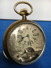 Antique Vintage Jovis 8 Days 8 Jours Pocket Watch Swiss Made Runs