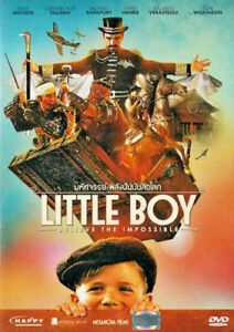 Little Boy (2015) DVD R0 PAL - Jakob Salvati, Emily Watson, History Family Drama