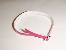 Barbie Doll Sized Accessory Pink Belt For Barbie Dolls bl00d