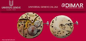 Vintage Original Bewegung Universal Geneve. Calibre. 262