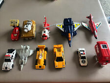 Transformers Lot of 11 from the 1980?s - Robots Vintage Parts & Pieces
