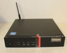 Lenovo ThinkCentre M700 Micro PC Pentium G4400t@2.90GHz 4GB Ram 500GB HDD Tested