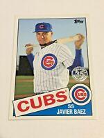2020 Topps Update Baseball '85 Topps - Javier Baez - Chicago Cubs