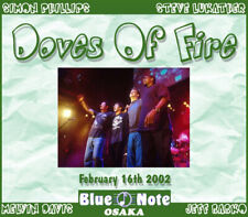 DOVES OF FIRE @LIVE 3-CDs Simon Phillips,Toto,Jeff Beck,Billy Cobham JAZZ FUSION