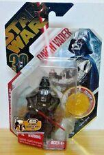 Star Wars 30th Anniversary Ultimate Galactic Hunt Darth Vader NOC '07 &Star Case