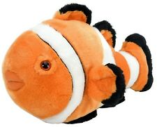 POISSON CLOWN 30 cm animal en PELUCHE WILD REPUBLIC 12232