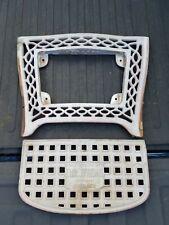 Emil J Paidar Foot Leg Rest Part Barber Chair Chicago NS527 Calf Vintage Antique