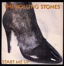 THE ROLLING STONES DISCO 45 GIRI START ME UP B/W NO USE IN CRYING
