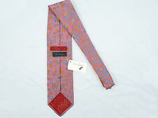 NEW! NWT! Paul Smith Colorful Floral Pure Silk Tie!   #T0L37C