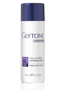 Glytone Step Up - Rejuvenate Exfoliating Lotion Step 1 - 2 oz / 60 ml New in Box