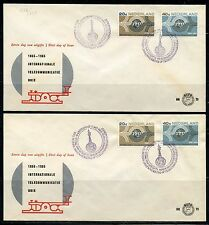 NETHERLANDS LOT OF 12 FIRST DAY COVERS  AS SHOWN