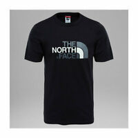 THE NORTH FACE S/S EASY TEE TNF BLACK T-SHIRT NEW S M L XL