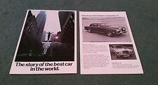 1977 ROLLS ROYCE BROCHURE THE STORY OF THE BEST CAR IN THE WORLD Silver Shadow 2