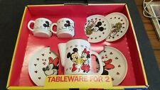 Tableware For 2 #516 Walt Disney Mickey & Minnie