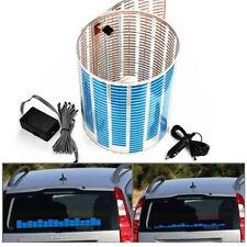 45 x 11cm Sound Music Activated Sensor Car Motor LED Light Equalizer Glow Blue
