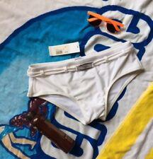 Cha Cha Boy Winter White Belted Swimsuit, XL