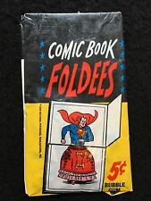 Topps 1966 Comic Book Foldees Unopened Gum Card Wax Pack