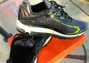 Nike Air Max Deluxe Men's Navy/Volt Green/Orange/Electric Blue Shoes Size 13!!